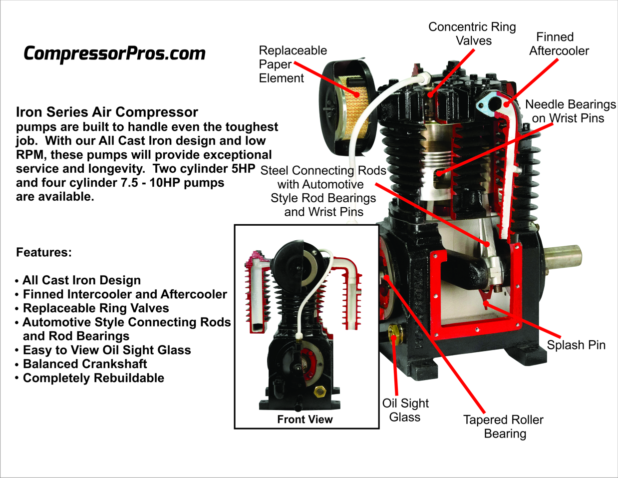 belaire-iron-series-air-compressor